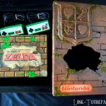 Console custom en boîte game watch zelda