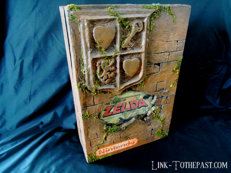 Console custom Nes Zelda Game and watch en boite