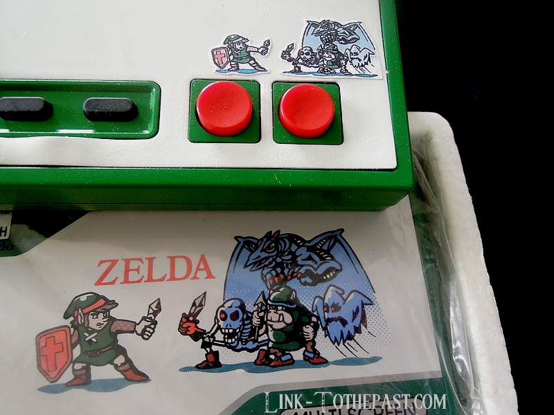 Manette Nintendo Nes Custoom Game and Watch Zelda