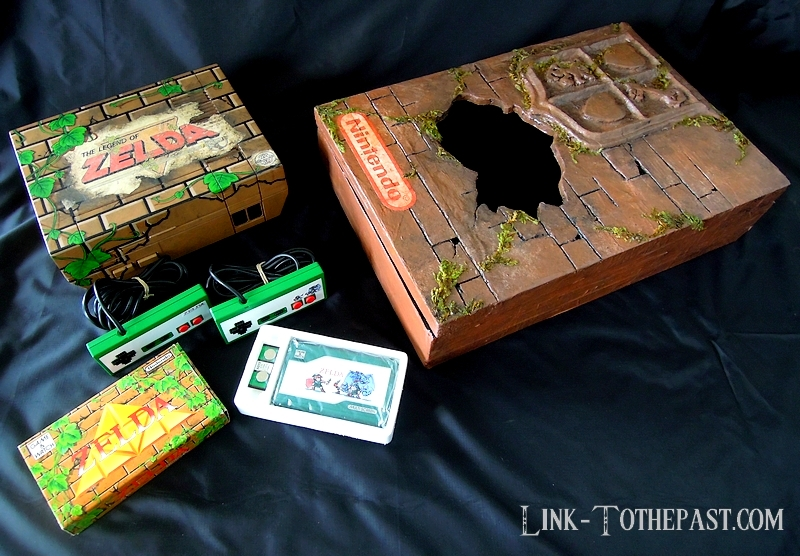 Console custom Nes Zelda Game and watch