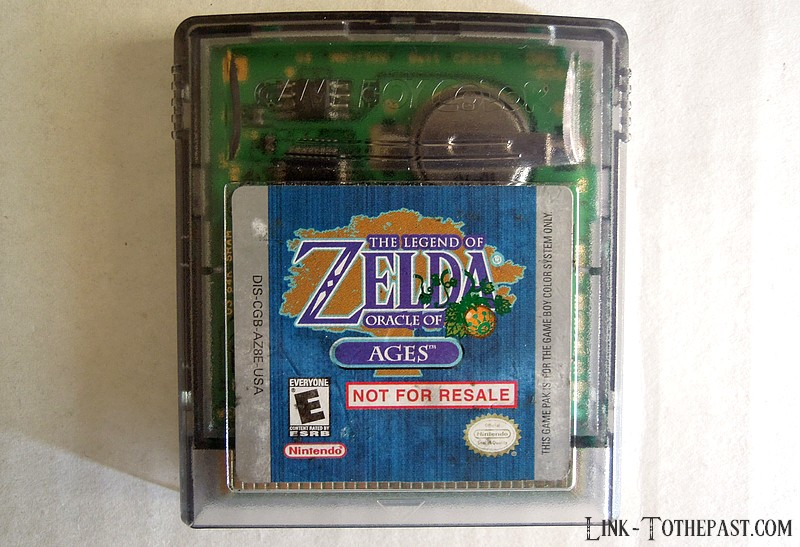 Zelda Oracle of Ages not for resale