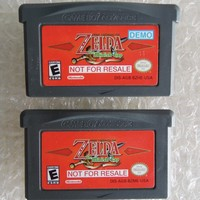 """[ARRIVAGE] Demo Zelda : Oracle of Ages et The Minish Cap """"not for resale"""" 1"""