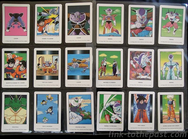 cartes dragon ball z hero collection