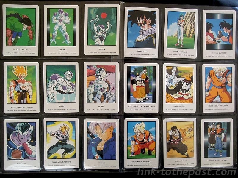 cartes dbz hero collection