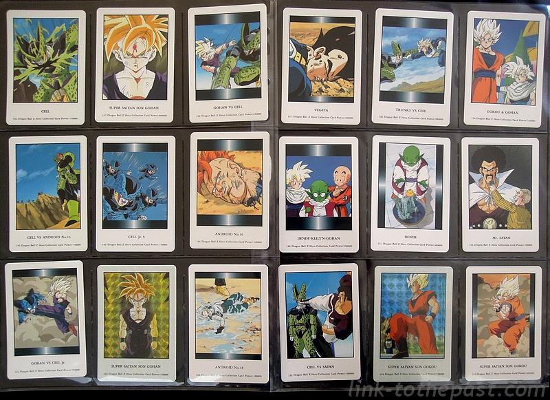 cartes dbz hero collection part1