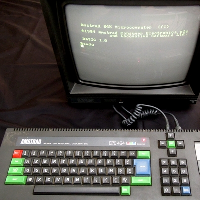 [BROCANTE] Amstrad CPC 464, Uru collector et Jump Jumper 1