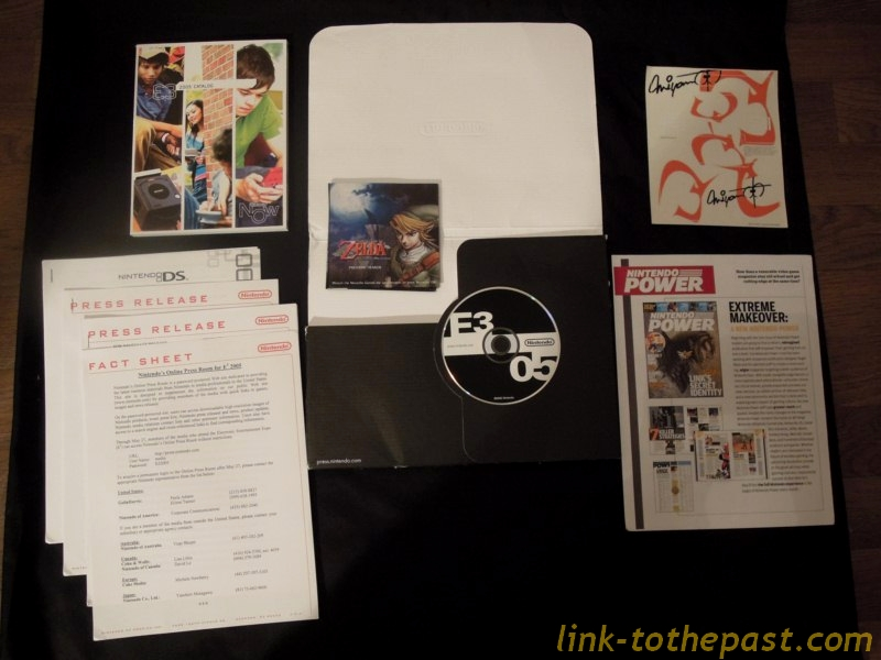 press kit twilight princess ds