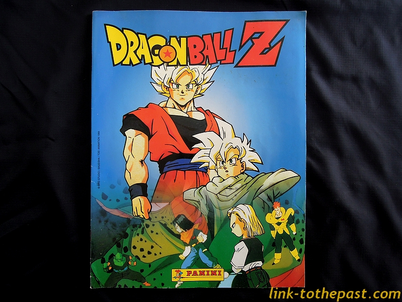 Album Panini Dragon Balll Z