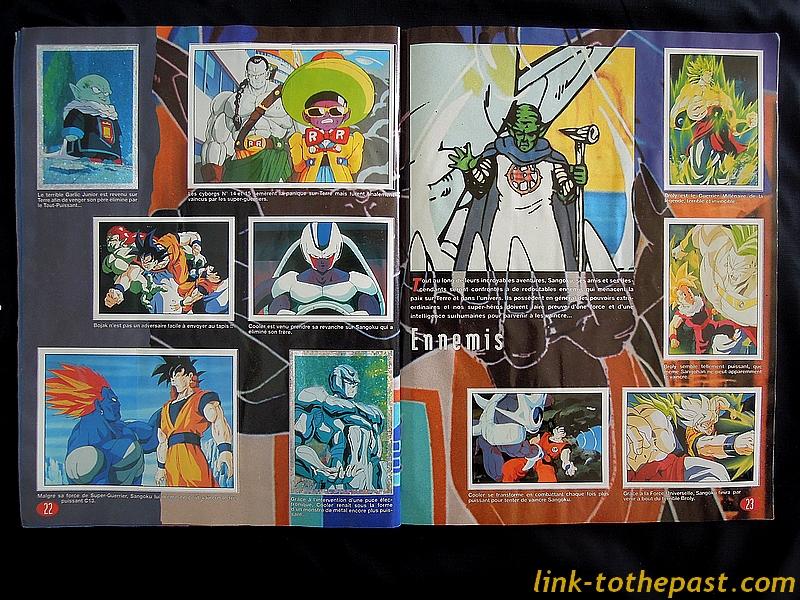 album cartes dragon ball z
