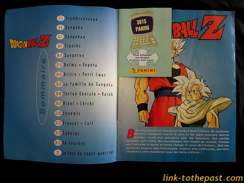 Album Panini Dragon Ball