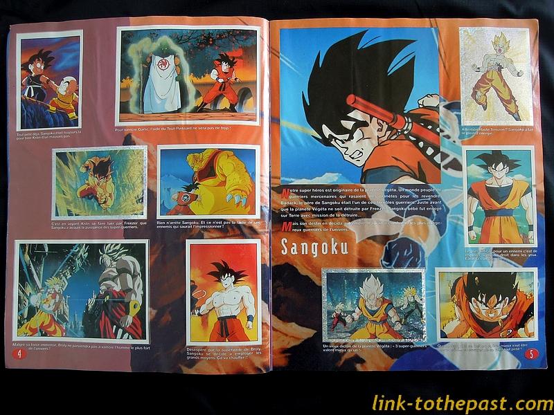 Album Panini Dragon Ball Z complet