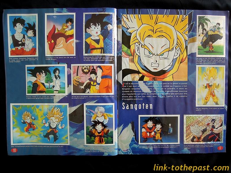 Album Panini Dragon Ball Z 1994