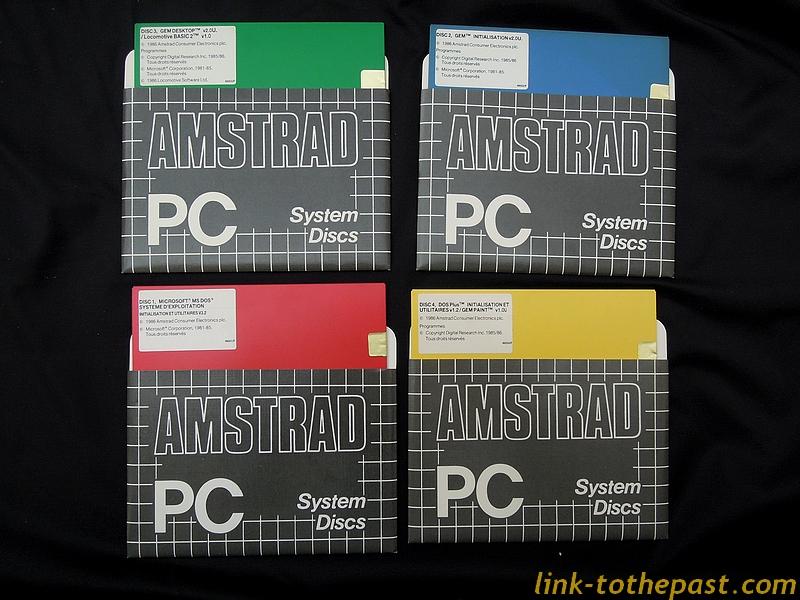 amstrad-pc-1512-system-discs