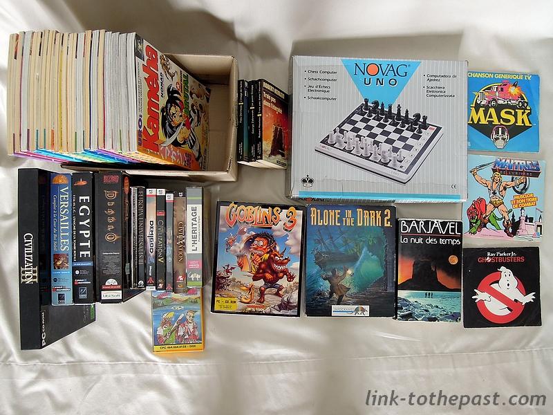 [BROCANTE] Jeux PC collector, magazines Kaméha, vinyles et bouquins 2