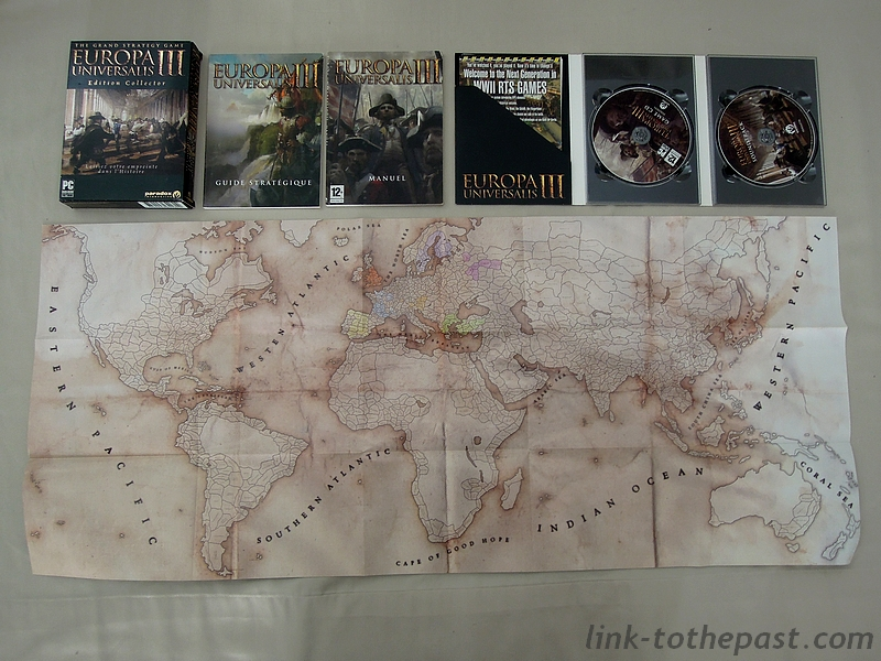 Europe Universalis III Collector : La map