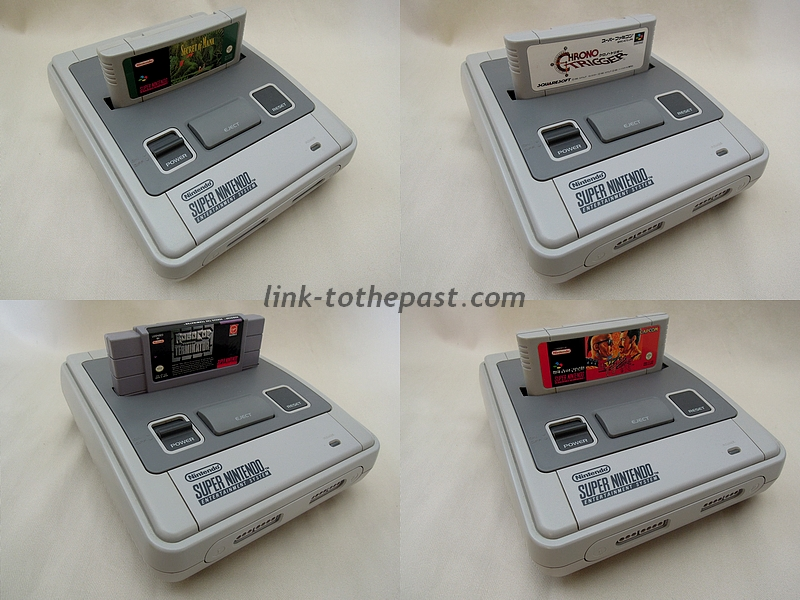 Super Nintendo switchée