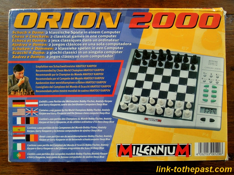 electronic chess orion 2000
