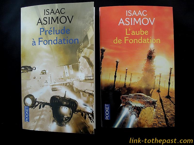 Les deux tomes qui précèdent chronologiquement Le Cycle de Fondation