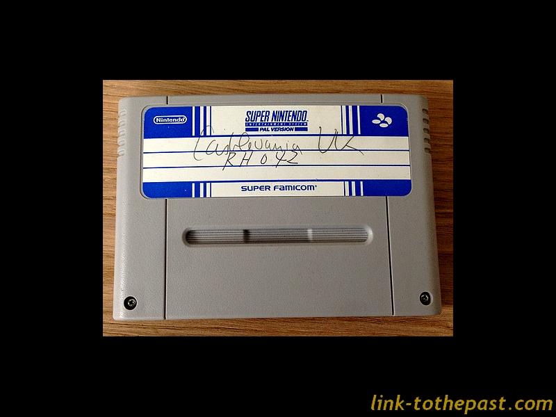 Cartouche prototype Super Famicom Vampire Kiss