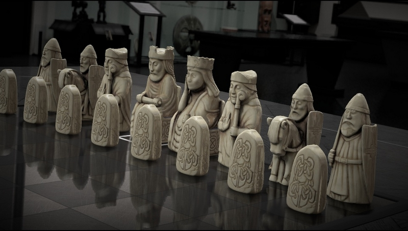 Pièces d'échecs de l'île de Lewis