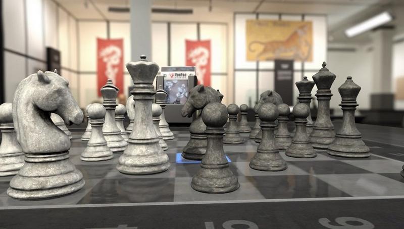 Pure Chess décors Musée