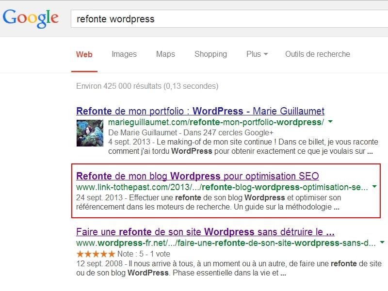 Refonte WordPress