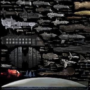 Comparaison de taille des vaisseaux spatiaux