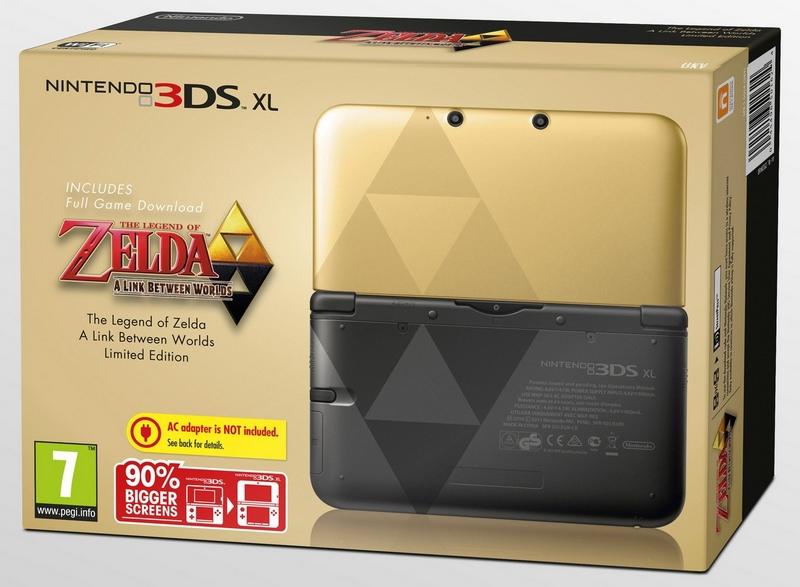console 3DS Zelda