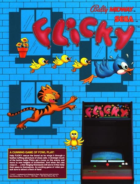Flicky Arcade