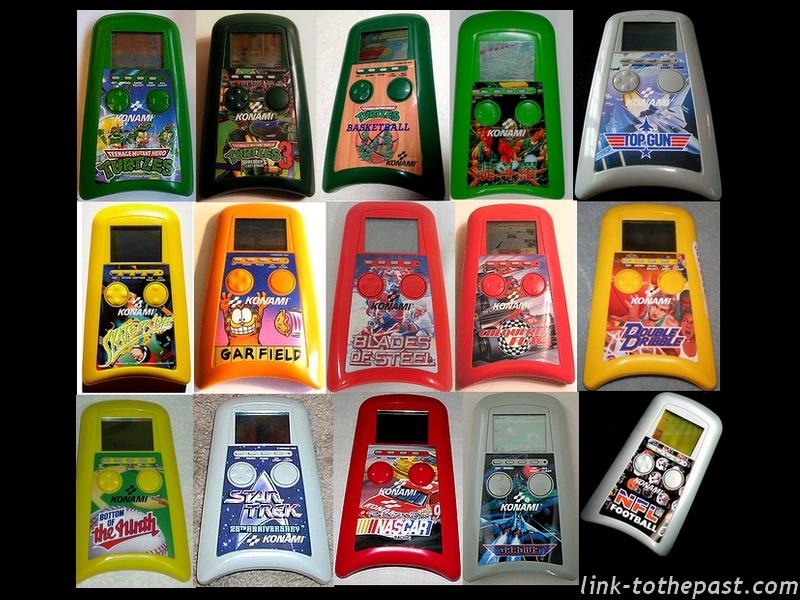 jeux électroniques Konami