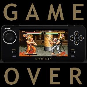 neogeo x game over