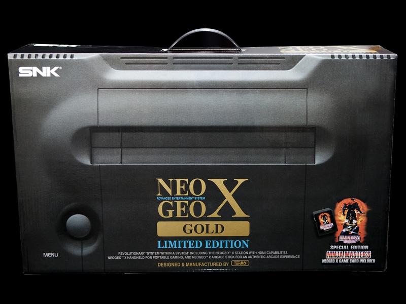 Neo Geo X Gold édition limitée
