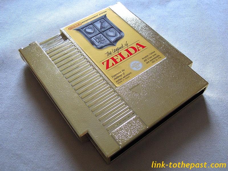 Cartouche The Legend of Zelda Nes