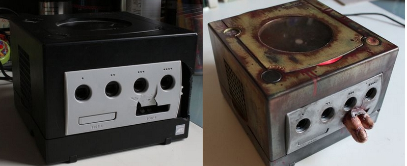console-custom-resident-evil