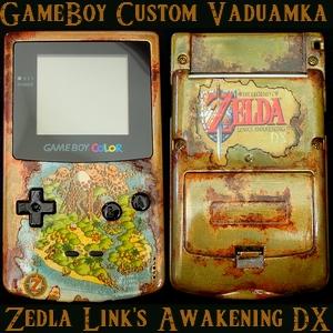 console custom zelda
