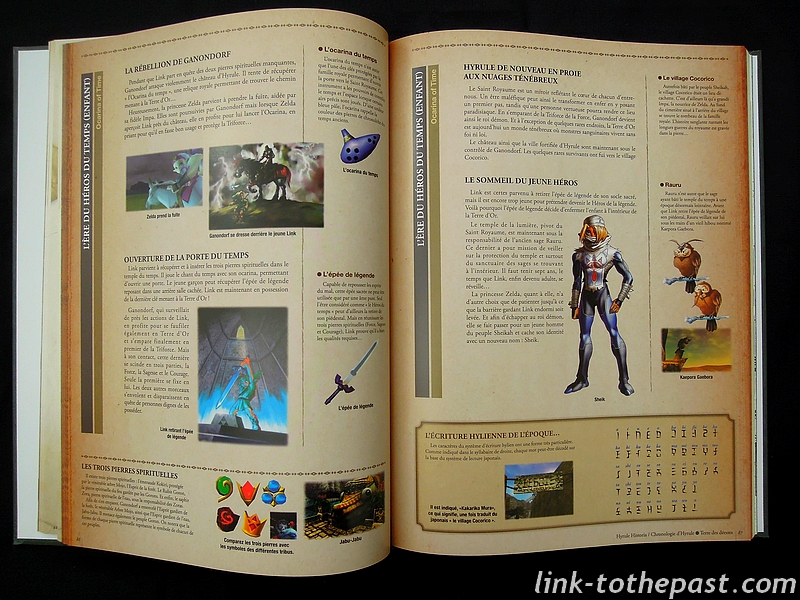 Chronologie Zelda Hyrule Historia