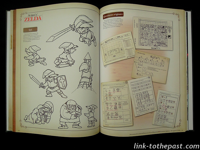 Hyrule Historia documents inédits