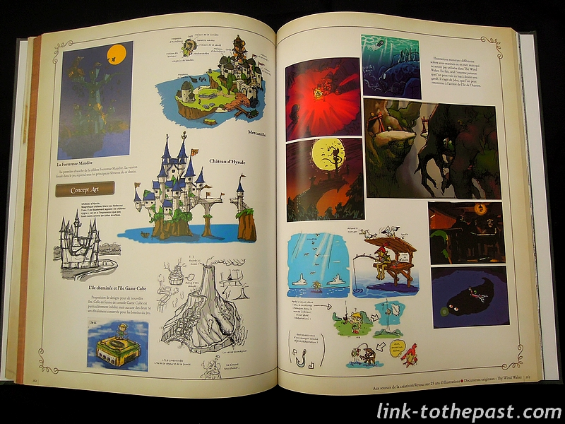 Illustrations de Hyrule Historia