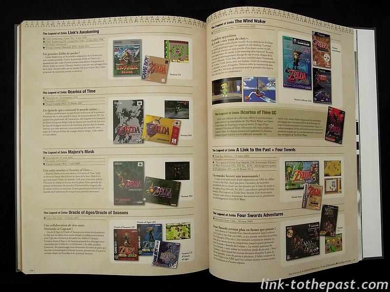 Les différents jeux Zelda
