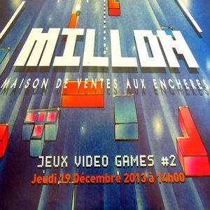 jeux video à drouot