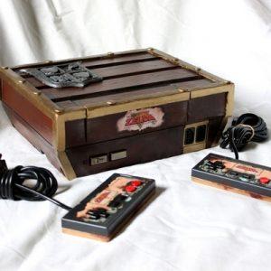 Console custom Zelda Link's Awakening DX par VaduAmka 1