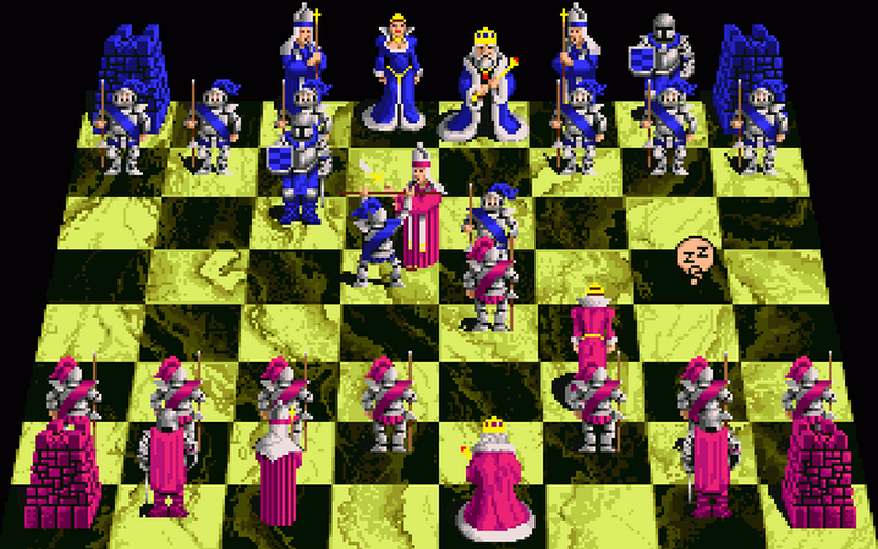 Battle Chess amiga