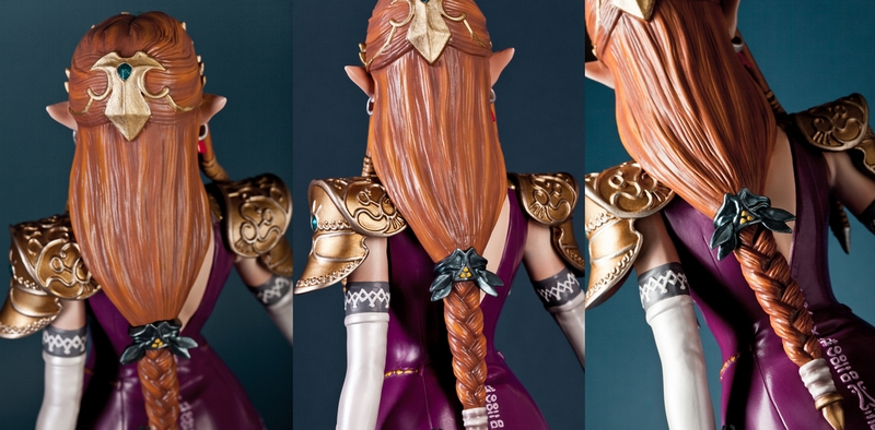 La statue de la Princesse Zelda de Twilight Princess