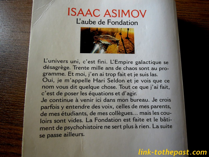 L'aube de Fondation Asimov 4è de couverture