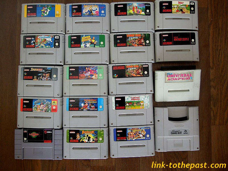 lot cartouches super nintendo