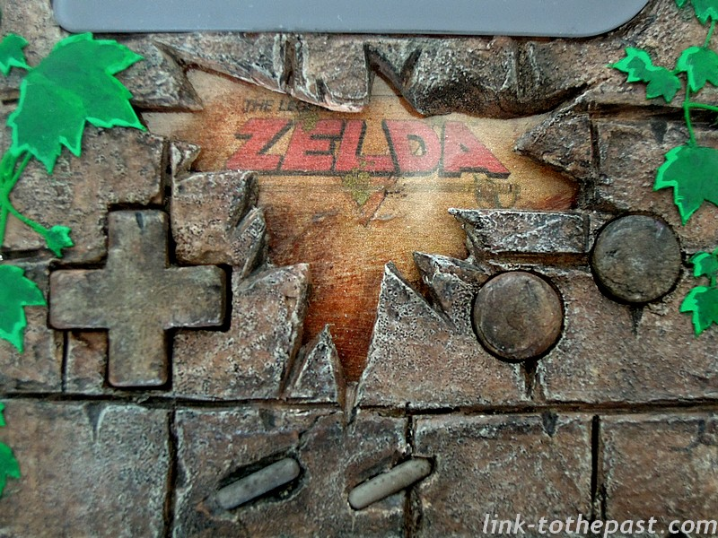 console custom the legend of zelda