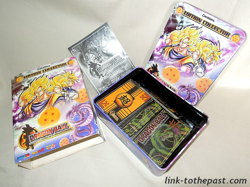 cartes dragon ball z collector