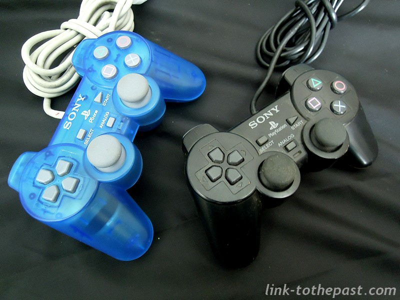 manette psone clear blue