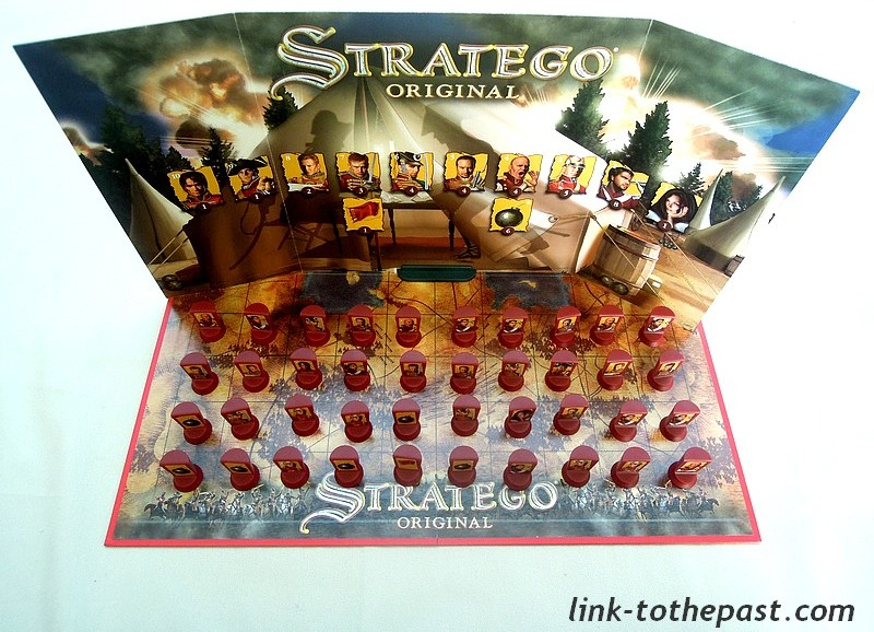 cache pions stratego