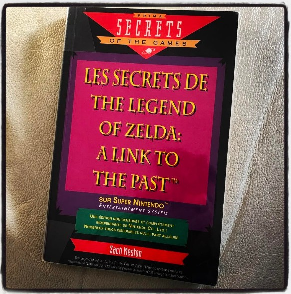 Les secrets de The Legend of Zelda A link to the past Zach meston
